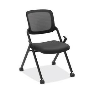 Hon Assemble Mesh Back Nesting Stacking Chair Armless Two Per Carton