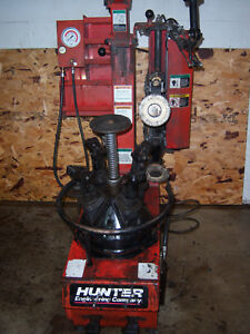 Hunter Tc350 Rim Clamp Tire Machine Changer Low Profile Wheels