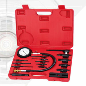 Pro Diesel Engine Compression Tester Test Set Kit For Car Auto Tractor Semi Usa