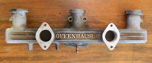 Offenhauser 1035 Dual Carb Intake Chevy 6cyl 216 235 261 1950 1959