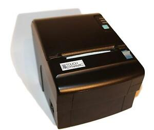 Touch Dynamic Lk t210 Thermal Receipt Printer Serial Usb W power Supply