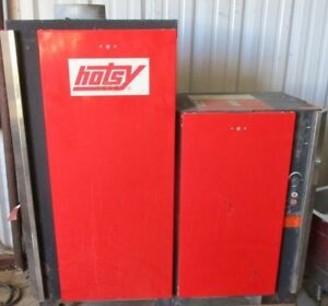 Used Hotsy 1455p 3ph Propane 4gpm 3000psi Hot Water Pressure Washer