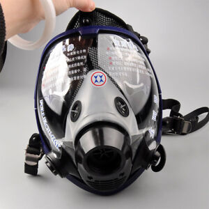 Us Full Face Facepiece Respirator Painting Spraying Gas dust Mask For 3m 6800