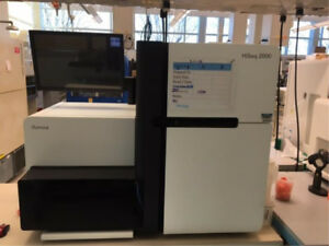 Illumina Hiseq 2000 Sequencing System Dna Analyzer Sequencer With Computer