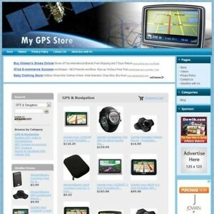 Gps Store Ready to go Dropship Website Your Online Business Runs On Autopilot