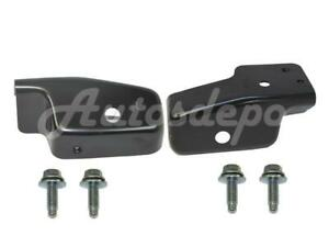 Front Bumper Extension Bracket Bolt Set For Chevy Silverado 1500 2007 2013