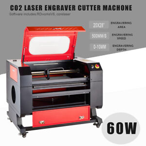 60w 20 X 28 Co2 Laser Engraving Cutting Machine Laser Engraver Machine Usb Port