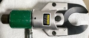 greenlee 751 m2 Hydraulic Cable Cutter mint Condition used 746 Ram good Con