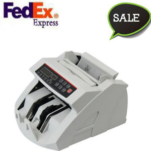us portable Money Bill Counter Counting Machine Counterfeit Detector Uv