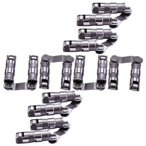 16pcs Hydraulic Roller Lifter With Link Bar For Chevrolet Bbc 396 454 Retro fit