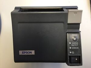Epson Tm t70 Front Loading Usb Pos Thermal Receipt Printer W Usb Cable