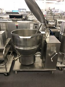 40 Gallon Gas Tilt Kettle Groen