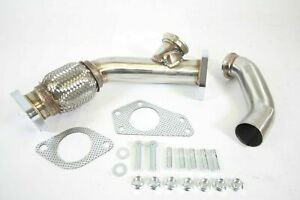 Plm Ewg External Wastegate Up Pipe 38mm For Subaru Wrx Sti Legacy Turbo