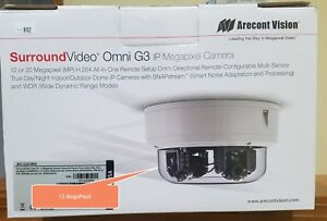 Arecont Vision Surroundvideo Omni Av12375rs 12mp Poe Network Camera Color