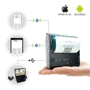 80mm Bluetooth Usb Thermal Printer Pos Receipt Ticket Cashdrawer Retail Printer