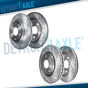 2005 18 300 Dodge Challenger Charger 320mm Front Solid Rear Drill Brake Rotors
