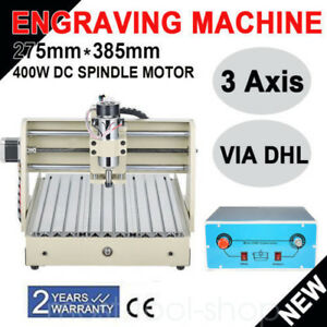 3axis Cnc3040 Router Engraver Wood Pcb pvc Mill Drill Engraving Machine 3d Motor
