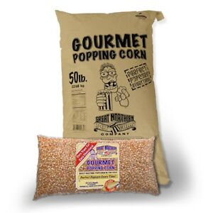 Great Northern Popcorn Yellow Gourmet Popcorn Bulk Bag Premium Grade 50 Pound