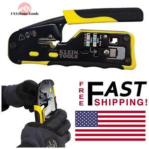 Klein Tools Modular Crimper 6 All in one Wire Cutter Crimping Electrical Tool