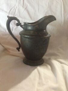 Sterling Silver 1924 Water Pitcher 733 Grams