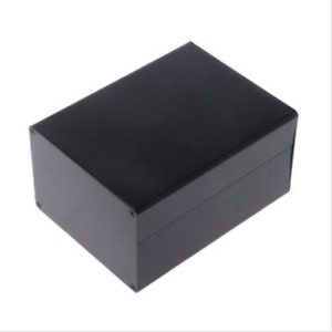 Aluminum Enclosure Diy Project Case Power Junction Box 155x120x83mm Black