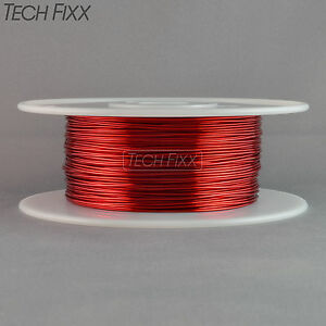 Magnet Wire 16 Gauge Awg Enameled Copper 232 Feet Coil Winding Crafts Red
