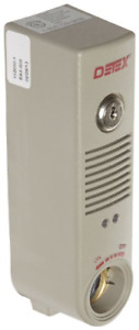 Detex Eax 500 Battery Powered Surface Mounted Door Exit Device Alarm Gray