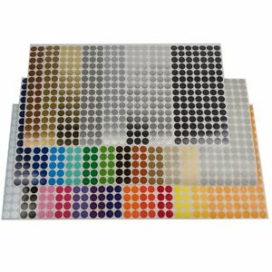 Color Coding Dot Labels 1 2 Inch Round Stickers 105 Pack Indoor outdoor Vinyl