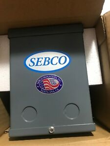 Sebco 1109 Low Voltage Lighting Transformer 250w 120vac 12vac 60hz Class 2