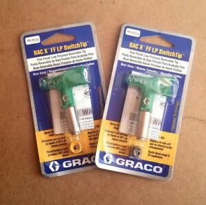 Graco Rac X Fine Finish Lp Switchtip 210 Lot Of 2 Tips