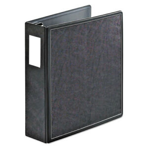 Superlife Easy Open Locking Slant d Ring Binder 3 Cap 11 X 8 1 2 Black