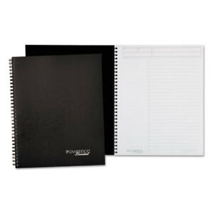 Action Planner Business Notebook Plus Pack 11 X 8 7 8 Black 80 Sheets 2 pack