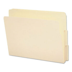 End Tab File Folder 1 3 Tab Assorted Letter Manila 100 box