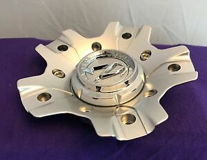 Zinik Silver Custom Wheel Center Cap one Cap M 346 Z27