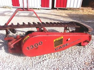 Case Ih 1300 Belt Type Sickle Mower 7 Ft 3 Point we Ship Real Cheap