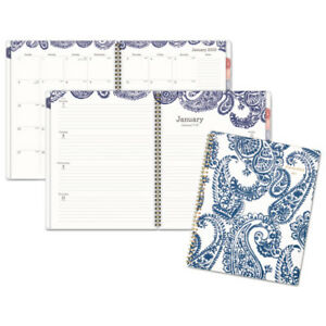 Paige Weekly monthly Planner 8 1 2 X 11 Navy white 2019