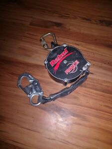 Rebel Ad120a Protecta Self Retracting 20 Lifeline 1 Polyester Web W carabiner