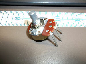 Potentiometer Linear Pc 1k Vert Angle Pc Mount Lot Of 100 Each