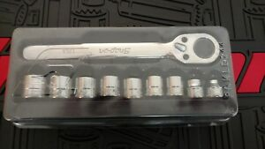 Snap On 10pc 3 8 Drive Metric Low Profile Ratchet And Socket Set