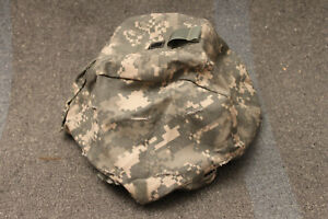 US Military Issue Army ACU Camouflage ACH MICH Combat Helmet Cover Size SM