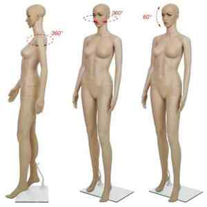 Female Woman Mannequin Full Body Dress Form Stand Store Display Sew Dummy Doll