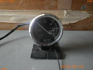 External Toyota Land Cruiser 80 Blitz Blitz Boost Meter 60 Mechanical