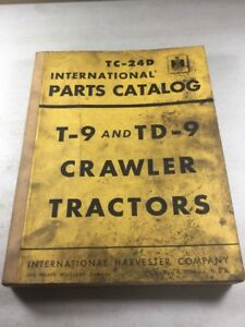 International T 9 Td 9 Crawler Tractors Parts Catalog Manual