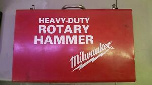 Milwaukee Heavy Duty Rotary Hammer Metal Case