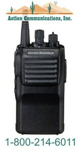 New Vertex standard Vx 414 2 5 Vhf 150 162 Mhz 5 Watt 32 Ch Two Way Radio