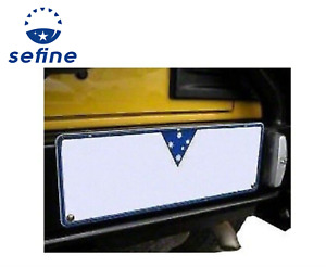 Arb Bumper License Plate Light Relocation Kit For 97 06 Jeep Wrangler 5750050