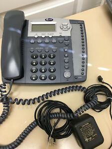 At t Model 974 Small Business 4 Line Speaker Phone With Caller Id 40 Each