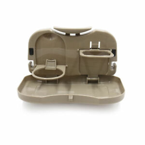 Travel Dining Tray Folding Auto Car Back Seat Table Drink Food Cup Tray Holder