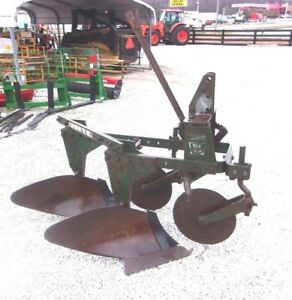 Used Oliver 2 14 Inch Turning Plow 3 Pt Hitch We Ship Cheap And Fast