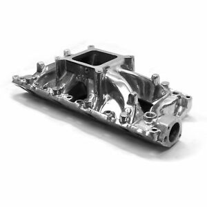 Sbf Aluminum Intake Single Plane 289 302 Windsor Small Block Ford Windsor Polish